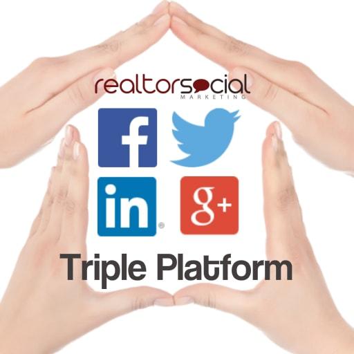 triple platform realtor social marketing package
